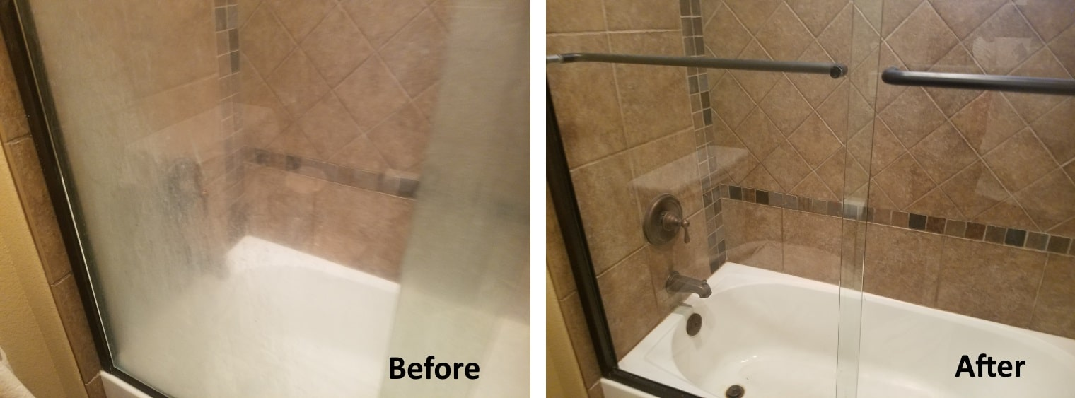 Hard Water Stain Removal - Glass Magic Colorado